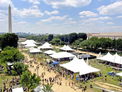 This will be the 46th year for the two-week Smithsonian Folklife Festival, which will be held once again on the National Mall in Washington, D.C. The event features musicians, artists, storytellers and more.