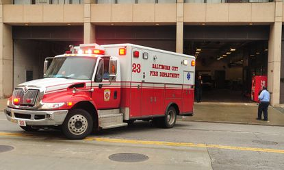 Baltimore plans to reduce the number of firefighters who initially respond to alarms to free up more staff for emergency medical calls.