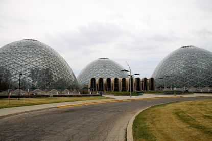 Mitchell Park Domes, in Milwaukee.