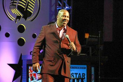 Comedian Capone, appears with the Shaquille O'Neal All-Star Comedy Jam.