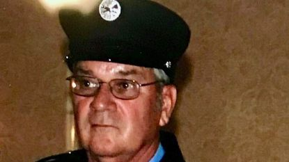 Michael Powers, 70, of Mount Airy arrived on the crash scene and was helping clear debris when he suffered an unspecified medical emergency and later died.