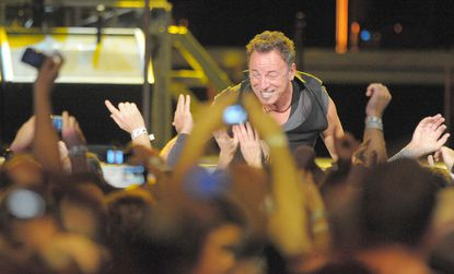 Bruce Springsteen and the E Street Band performs at 1st Mariner Arena.
