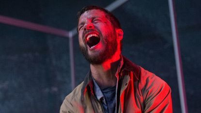 """A digital roachlike device implanted in the body of a wounded mechanic (Logan Marshall-Green) goes to town in """"Upgrade."""""""
