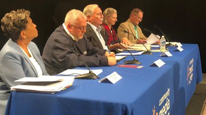 Carroll school board candidates tackle RSCC report, electronic devices during forum