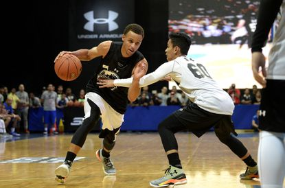 Under Armour, sponsoring NBA youth events, looks to make basketball inroads