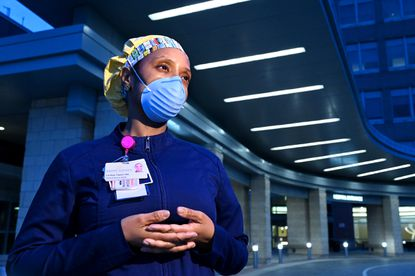 LaKya Taylor, who has worked at St. Agnes Hospital for 14 years, describes the new stresses of working as an ICU nurse during the coronavirus pandemic. April 29, 2020