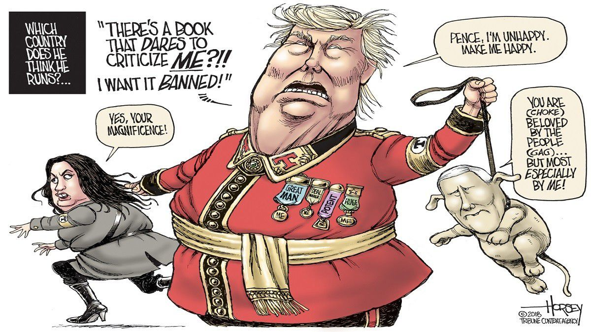Dictator Trump - Baltimore Sun