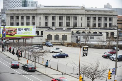 Baltimore, MD -- Amtrak has received information from nine firms interested in serving as master developer for redeveloping Penn Station and its land around the station, including this parking lot.
