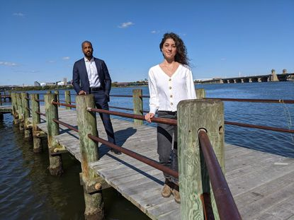 Chesapeake Conservancy Manager of Equity and Community Engagement Gabrielle Roffe and Executive Vice President of Programs Mark Conway said the conservancy is working to qaddress lack of diversity in environmental advocacy.