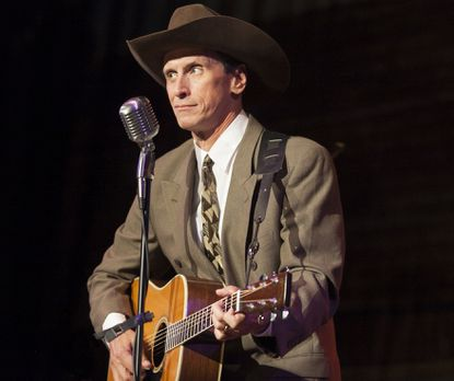 "Jason Petty as Hank Williams stars in the Infinity Theatre Company production of ""Hank Williams: Lost Highway."""