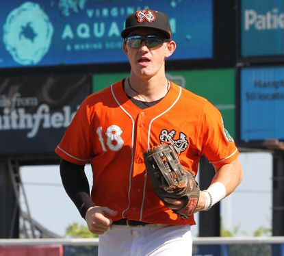 Outfielder Austin Hays, who spent most of the season with the Triple-A Norfolk Tides, will join the Orioles for the rest of the season and then play in the Arizona Fall League.