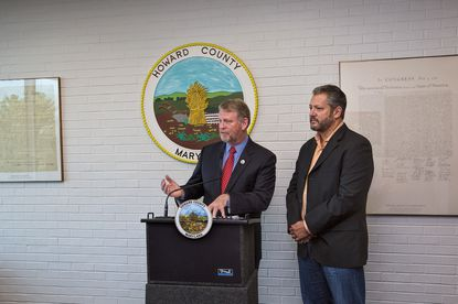 Howard County Executive Allan Kittleman is partnering with Councilman Greg Fox to introduce legislation that would phase out the county's stormwater fee over two years.