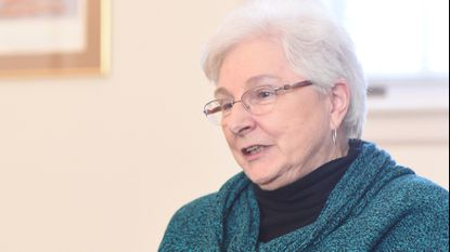 Sister Kathleen McNany of the Benedictine Sisters of the Baltimore Emmanuel Monastery. File.