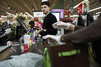 Essential workers like the grocery cashiers are celebrated as heroes during the coronavirus pandemic, but are often underappreciated when times are good.