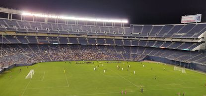 New pro soccer team 1904 FC won its home debut 3-1 against the California United Strikers at SDCCU Stadium.