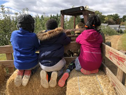 Tanika Davis recently took her kids on a hayride because it was a rare day off for everyone. So instead of running errands and cleaning the house -- which she really needed to do -- she took them to a pumpkin patch. And they loved it.