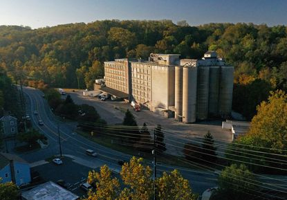 The Wilkins Rogers Mills facility in Oella, across the river from historic Ellicott City, is slated to shut down in early 2020. Its the last operating commercial mill in Maryland.
