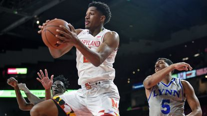 With similar game, Terps' Aaron Wiggins is helping fill Kevin Huerter's role as stat-sheet stuffer
