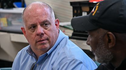 Gov. Larry Hogan's book will be published in June.