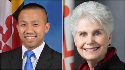 Clarence Lam (left), who represents District 12 in the Maryland House of Delegates and Mary Kay Sigaty (right), who represents the 4th District on the Howard County Council, are running for the Democratic nomination for the District 12 Senate seat.