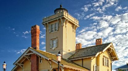 Hereford Inlet Lighthouse is open to the public daily for self-guided and guided tours.