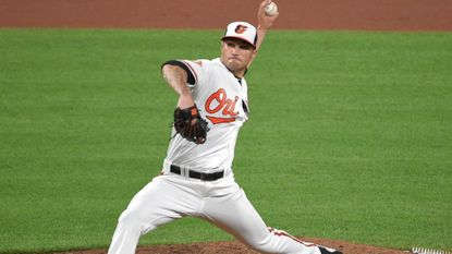 Orioles left-hander Tanner Scott made his major league debut against the Red Sox on Wednesday night at Camden Yards.