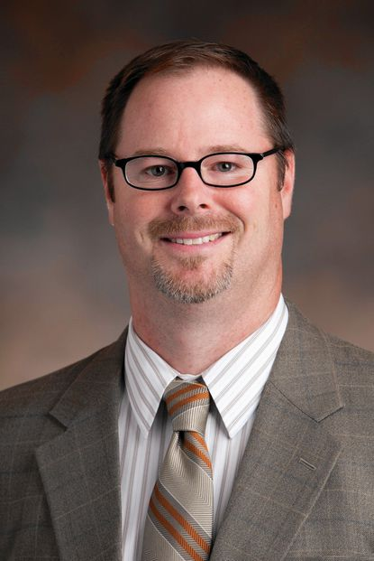 Carroll Hospital Center 2015 Physician of the Year, Dr. Christopher Grove, chief of pathology.
