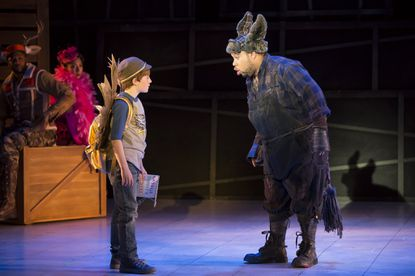 """Henry Wager, left, and John Orduna in """"The Lion, The Unicorn, and Me"""""""
