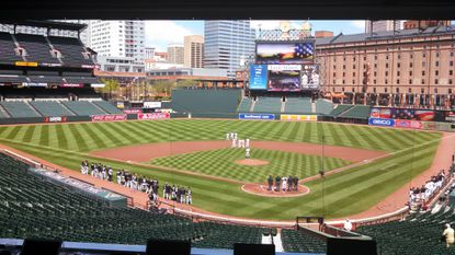Live blog of Orioles-White Sox game closed to public