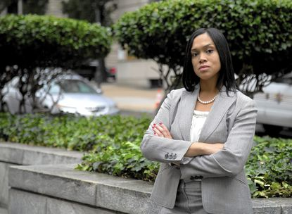"""""""Police brutality is completely inexcusable. I'm going to apply justice fairly, even to those who wear a badge,"""" said Marilyn Mosby, Baltimore state's attorney."""