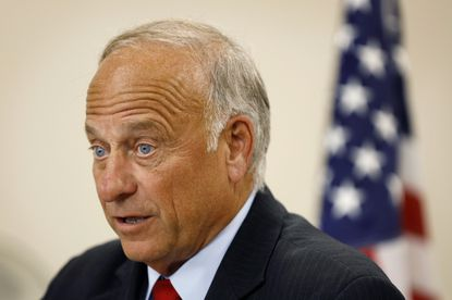 GOP Rep. Steve King, while defending his call for a ban on all abortions, suggests rapes and incest helped populate the world