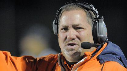 McDonogh football coach Dom Damico.