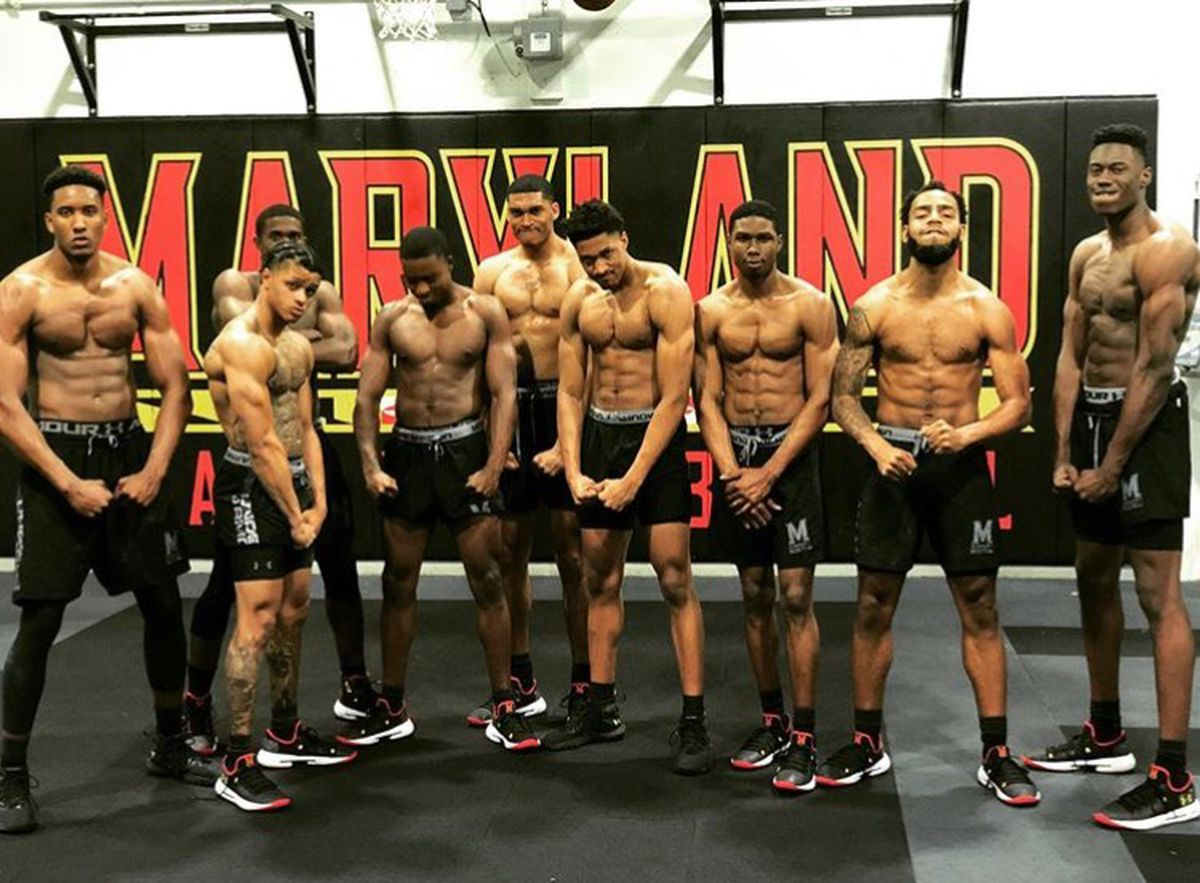 Under the weight of top-10 expectations, Maryland men's basketball team adds some much-needed muscle