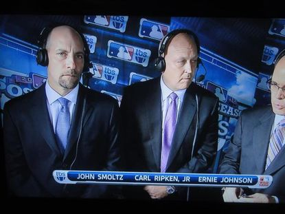Way to go TBS with 'Carl Ripken, Jr.' graphic