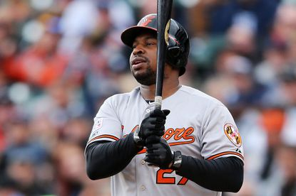 Delmon Young joined the Orioles last offseason knowing he could compete for playing time.