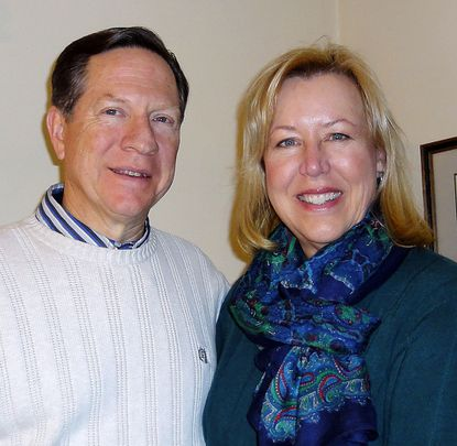 The Rev. Jeffry Dull and wife Cathy Dull.
