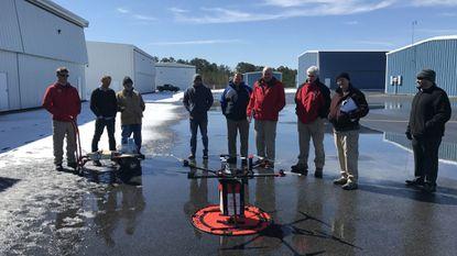 University of Maryland Medical Center transplants first drone-delivered organ