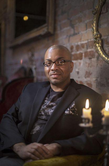 "Rashod Ollison, Virginia Beach author of ""Soul Serenade"""