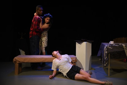 """Blood, Camp, and Chaos: """"Blood for Dracula"""" director Sarah Jacklin on meticulously messy theater"""