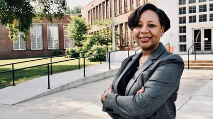 Monica Goldson, a longtime educator in Prince George's County public schools, was named interim chief executive officer on Monday, July 23.