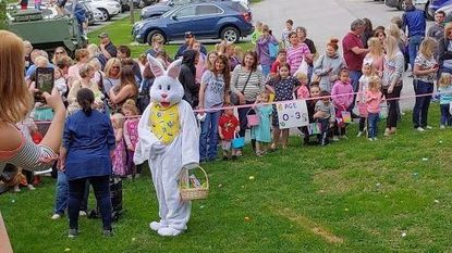Members of the Hampstead community enjoyed the annual Good Friday Egg Hunt and a visit from the Easter Bunny on Friday, April 19, at the American Legion Post 200.