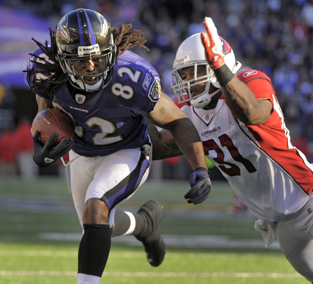 Former Ravens receiver Torrey Smith announces retirement, says he's returning to Baltimore