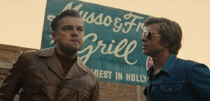 """Leonardo DiCaprio, left, and Brad Pitt in """"Once Upon a Time ... in Hollywood."""""""