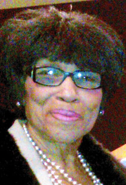 Lillian Baxter Jones-Cuffie was active in Baltimore Democratic politics and was retired from the state's Department of Human Resources.