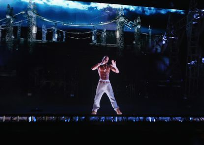 <p>In 2012, Coachella hosted a performance from the late hip-hop artist Tupac Shakur in hologram form. It cost between $100,000 and $400,000 to create the special effect, which would become a model for other hologram tours, according to Amy X. Wang of Rolling Stone.</p>