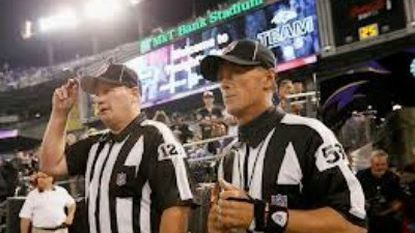 NFL Network brings Thursday night Ravens game to prime time as real referees return.