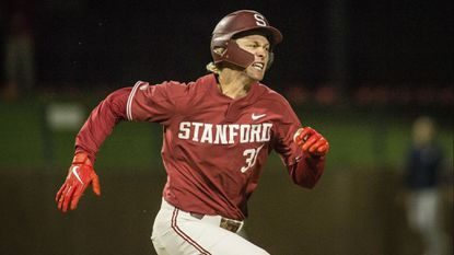 The Orioles selected Stanford's Cardinal Kyle Stowers with their third pick on the first day of the MLB draft.