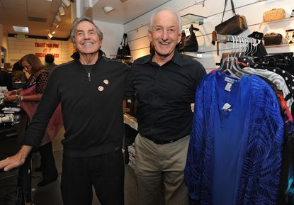 Rich Krieger, left, and his brother Bernie Krieger, owners of Lexington Lady, have a going-out-of-business sale.