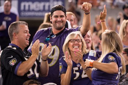 Baltimore Ravens fans are ahead of the trends as Pantone announces the color of the year: and it looks a lot like Ravens purple.