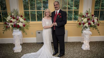Karen Clark and Bryon Stepp were married Sept. 2 at the Mansion House at the Maryland Zoo in Baltimore.